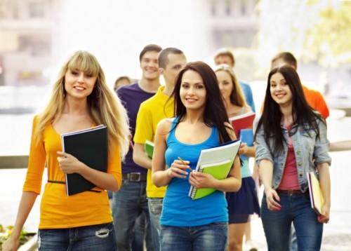 Étudiants cahiers études supérieures