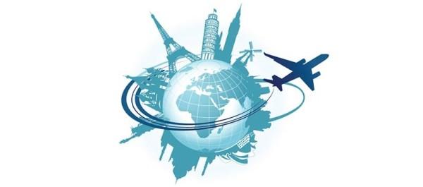 Globe avion travail tourisme